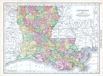 Louisiana, World Atlas 1913
